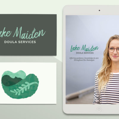 Thumbnail for Lake Maiden Doula Services branding project